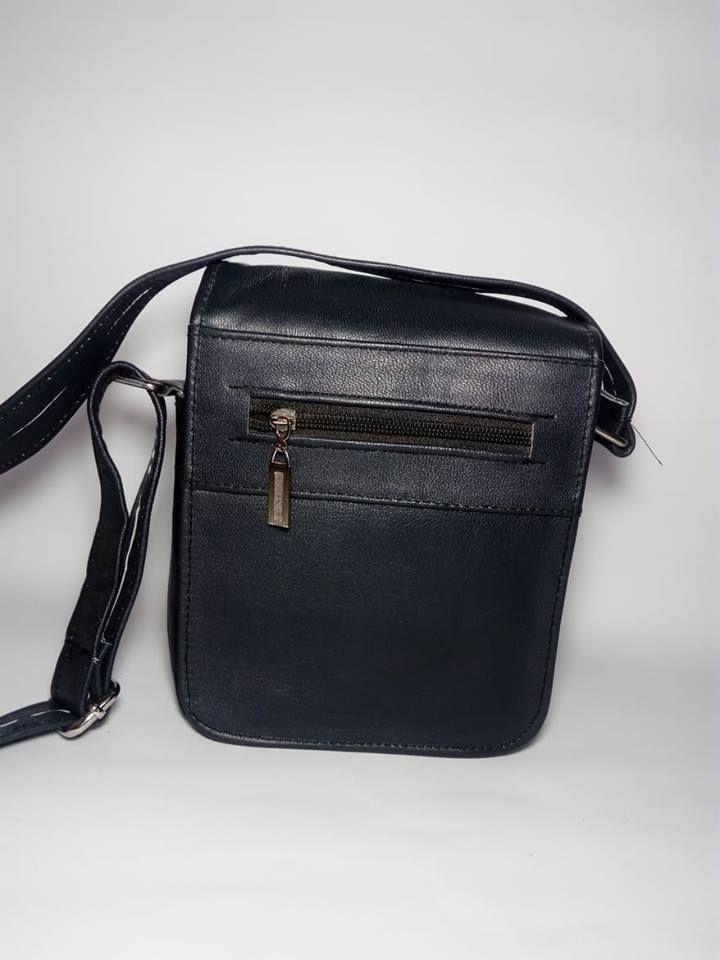 cdf28e8f1599e سعر Leather Shop شنطة كروس رجالي اسود فى مصر