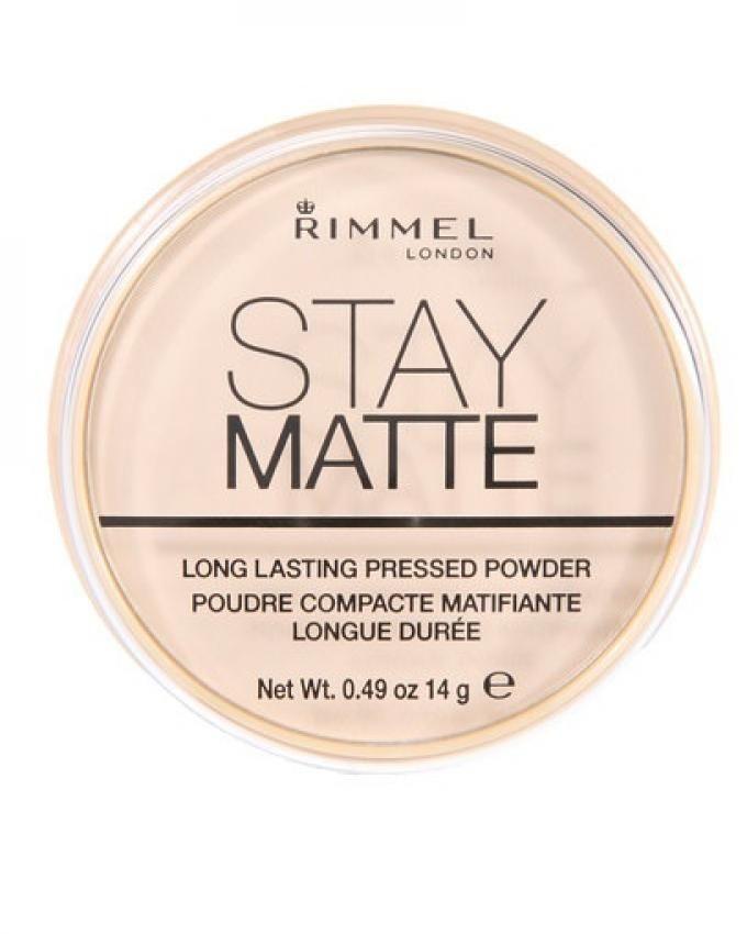 plus grand choix de volume grand nouveau style de 2019 Rimmel Stay Matte Pressed Powder - Transparent Price in ...