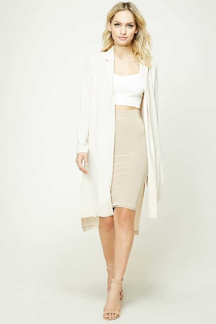 891bd3428a Forever21 Contemporary Longline Jacket Price in Egypt