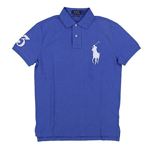 af8f67af US Polo Ralph Lauren Mens Big Pony Custom Slim Fit Mesh Polo Shirt ...