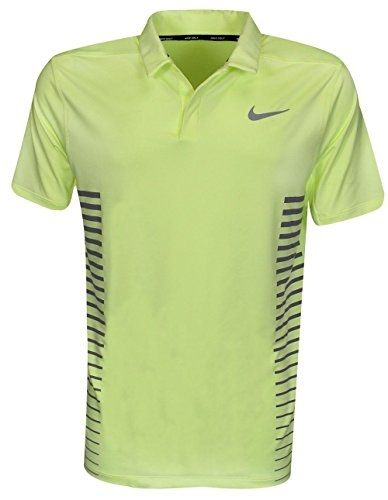 455641630c8c8 Buy US Nike Golf Dry Momentum Polo Green/Gray Stripe Large in Egypt