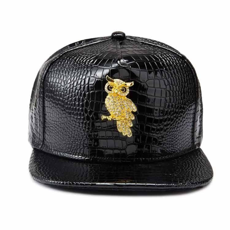 267b4ff0ecf Generic Hats Owl Pattern Top Hat Fashion Men And Women Hip Hop Style ...