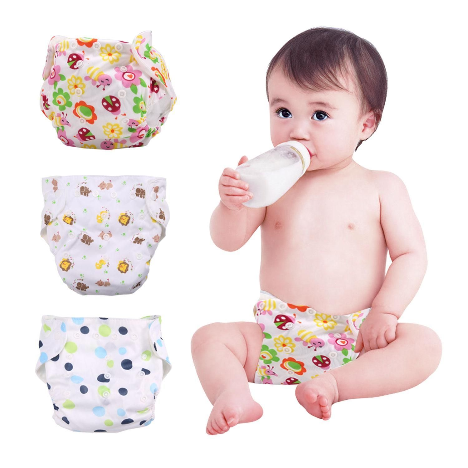 3645a56c37c Louis Will Cute Baby Diapers Reusable Nappies Cloth Diaper Washable ...