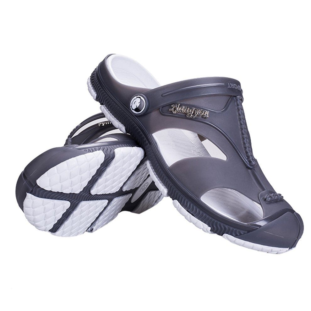 20f4ba22d4d865 Buy Kokobuy Comfortable Men Summer Slipper Hole Hollow Out Ventilating Beach  Shoes Sandals in Egypt