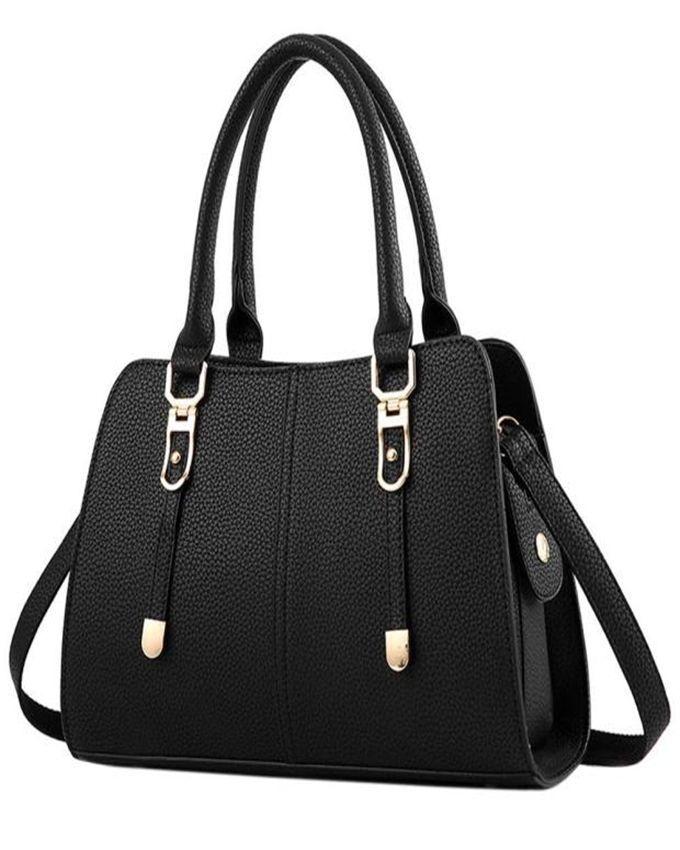 Neworldline New Fashion Women Shoulder Bag Crossbody Tote Handbag Purse Leather-Black