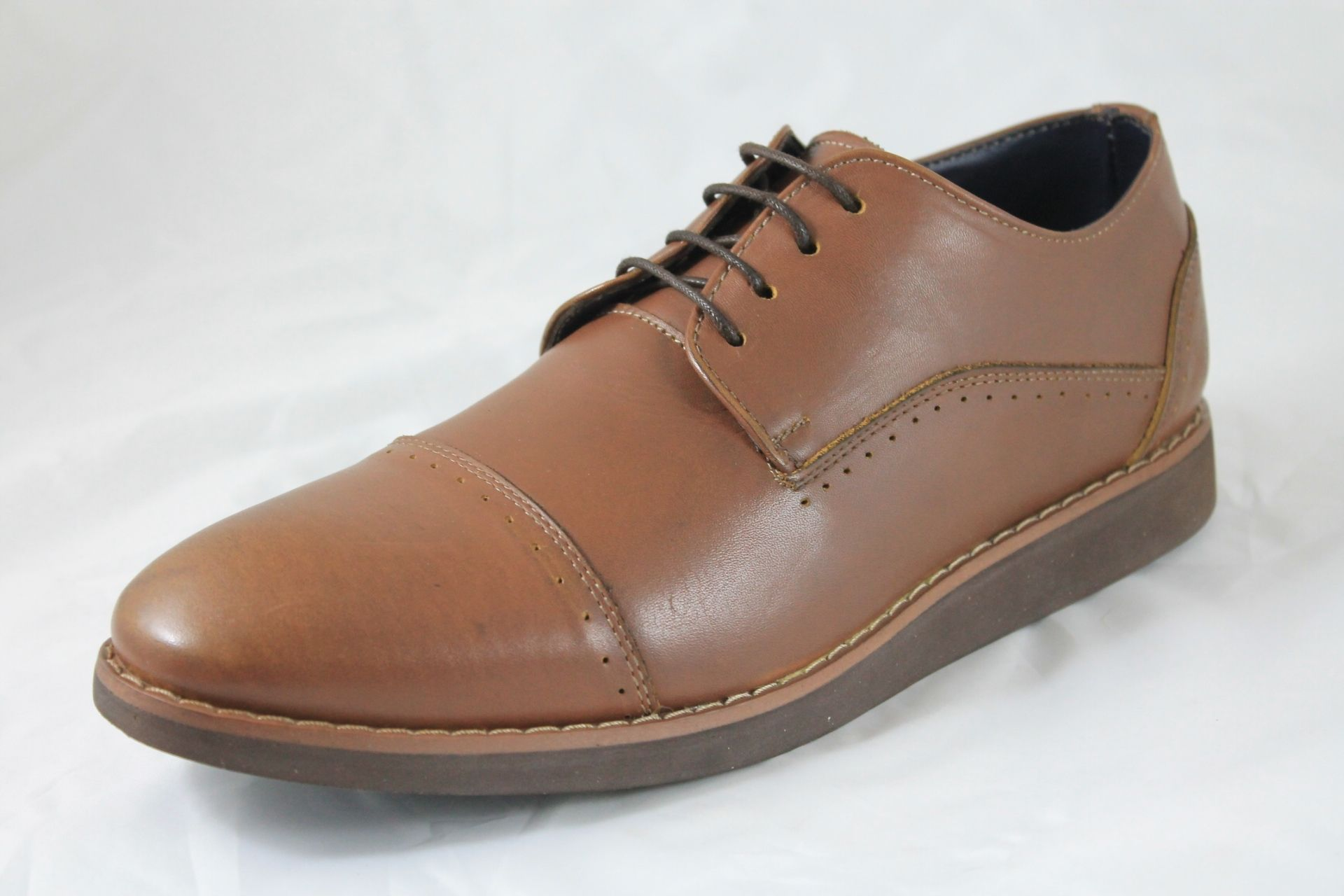 425cd00dd سعر Shoebox Leather Casual Shoes - Light Brown فى مصر | جوميا ...