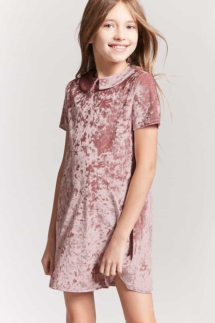 2a3b553c06 Forever21 Girls Crushed Velvet Dress (Kids) Price in Egypt