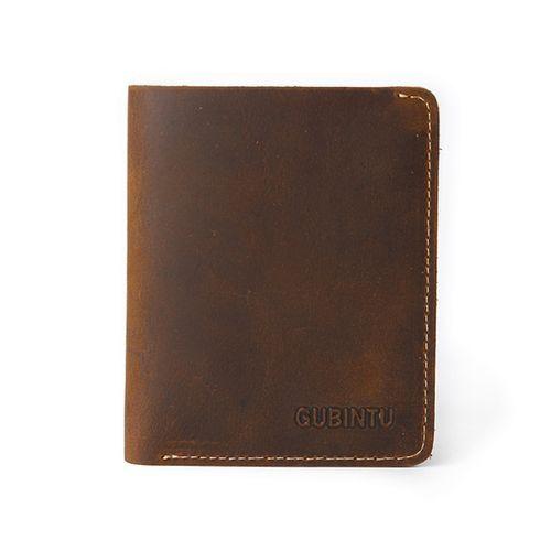 db58b39b41ee4 Eissely Men Leather Bifold Cards Holder Slim Wallet Money Purse Billfold  Coffee