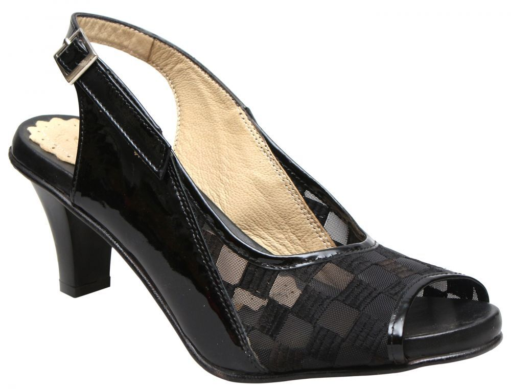 Oryx Heel Sandal - Black