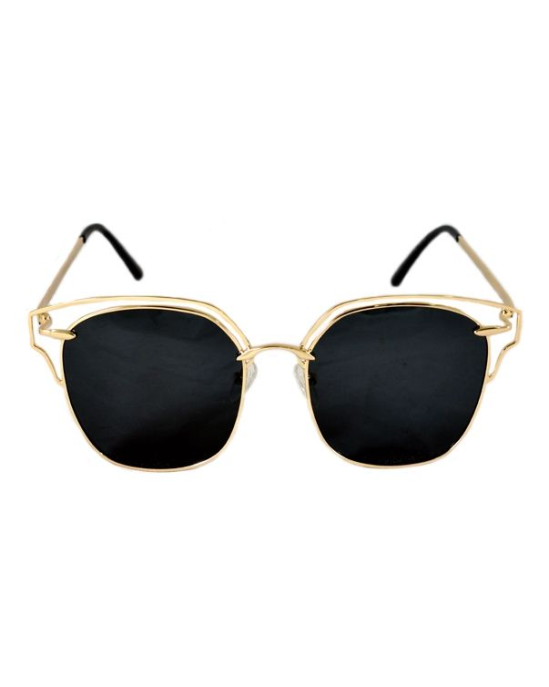 10976e33b AL-MAHAL Women Polarized Sunglasses - GOLD | نظارات | كان بكام .كوم