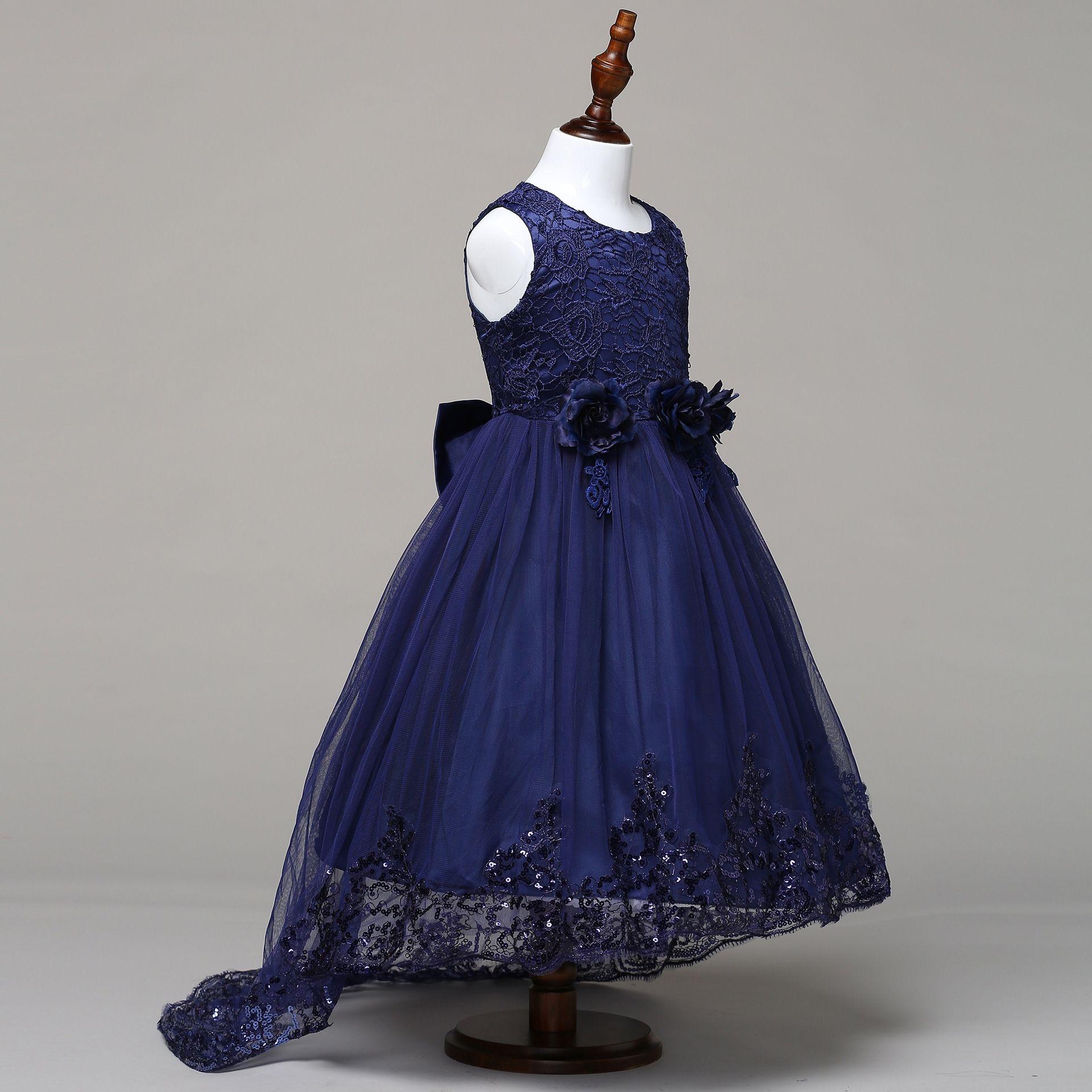 f740e1ff59e8 Generic Tailing Princess Dress Flower Girl s Peg flower Dress Girl s ...
