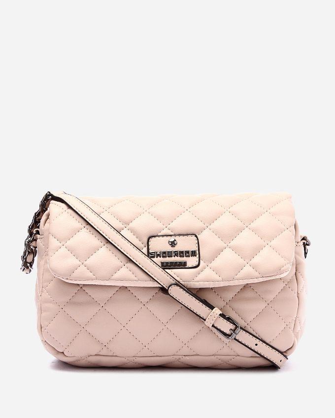 126dd63c042c5 سعر Shoe Room Leather Cross Body Bag - Baby Pink فى مصر