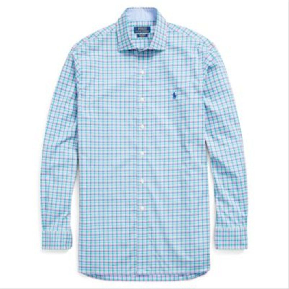 b70079fc0 Ralph Lauren Classic Fit Cotton Shirt | قمصان | كان بكام .كوم