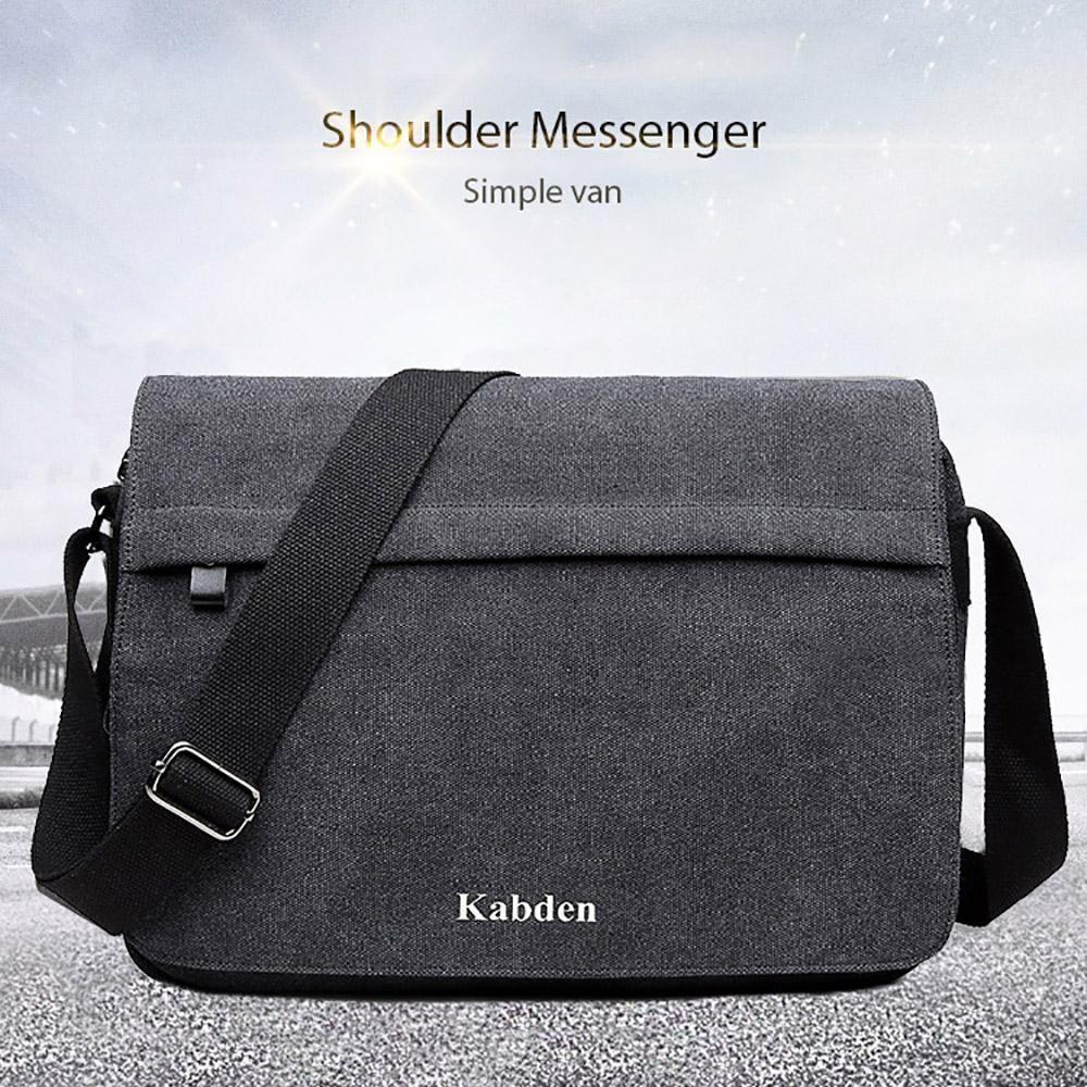 f7a10c53cca Louis Will Men s Simple Leisure Canvas Shoulder Bags Messenger Bag Canvas  Bag