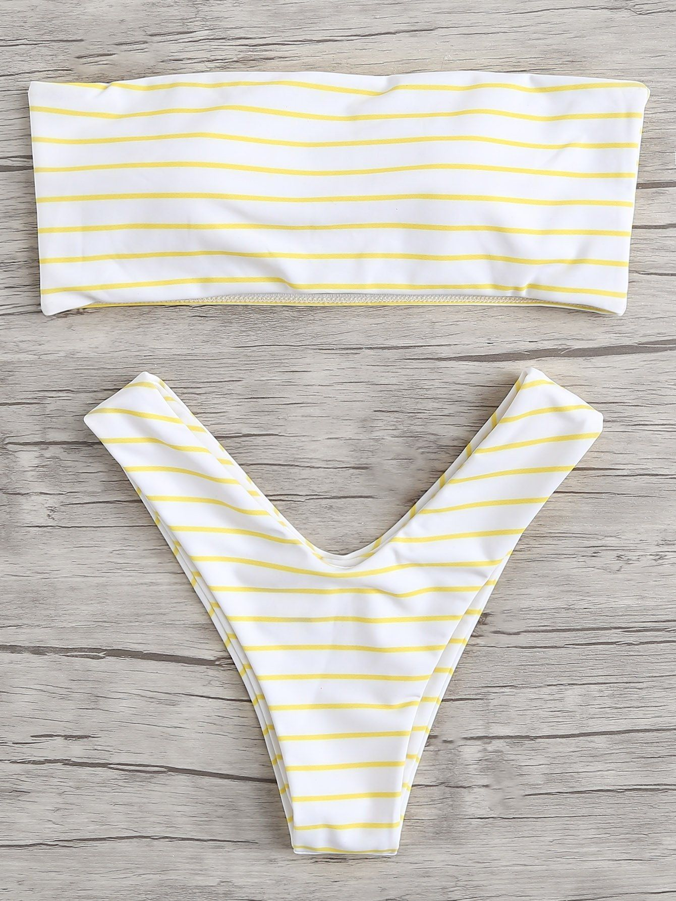 6c5e140f8f SHEIN Striped High Leg Bikini Set Price in Egypt | Jumia | Swimwear ...