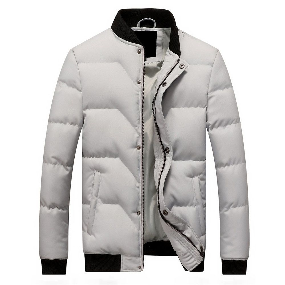 2aaa74764e47 Fashion Men Cotton Parka Jacket - Grey Price in Egypt   Jumia ...