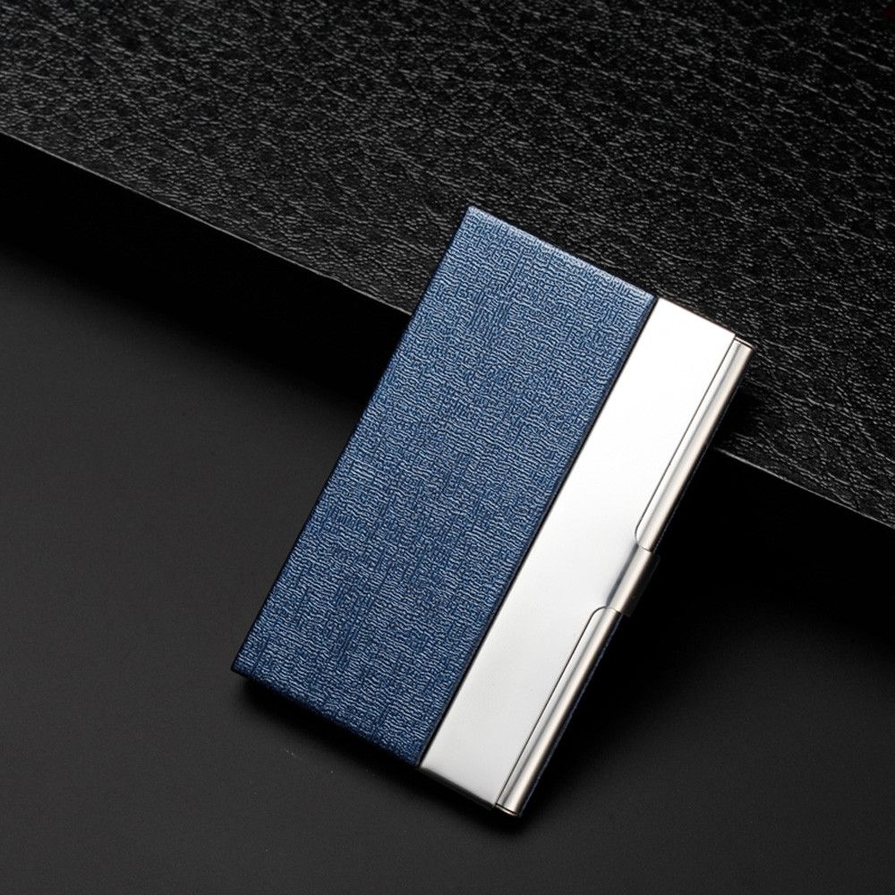Eissely Pocket Stainless Steel Metal Business Card Holder Case ID ...