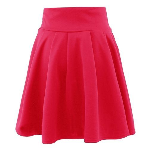 b3443ffab Buy Eissely Womens Party Cocktail Mini Skirt Ladies Summer Skater Skirt-Red  in Egypt