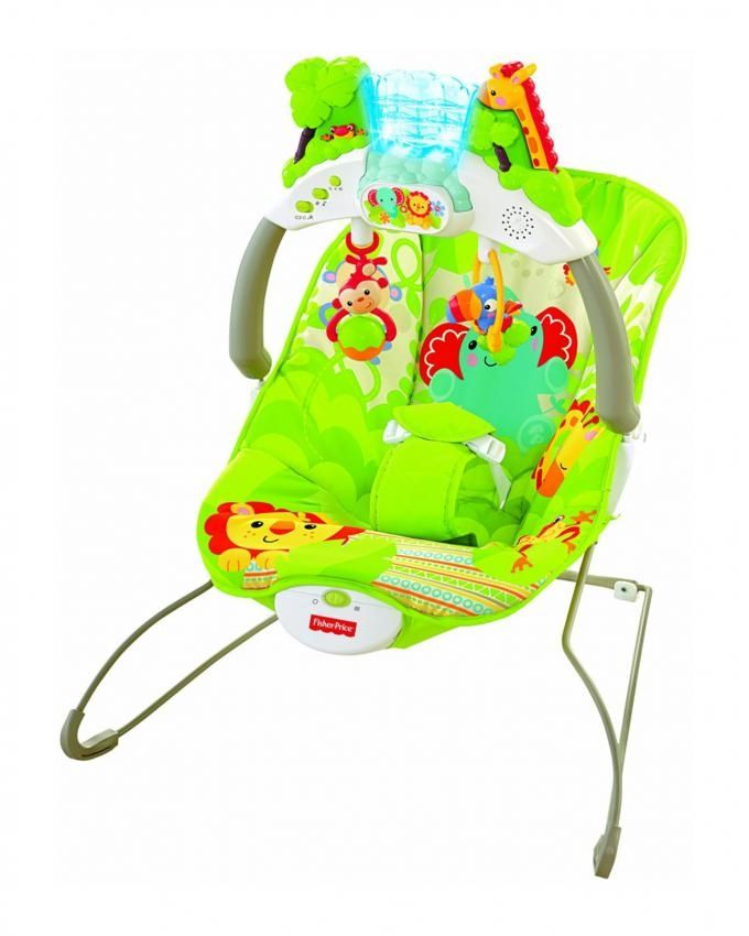 Fisher Price Rain-forest Deluxe Bouncer - Multicolor