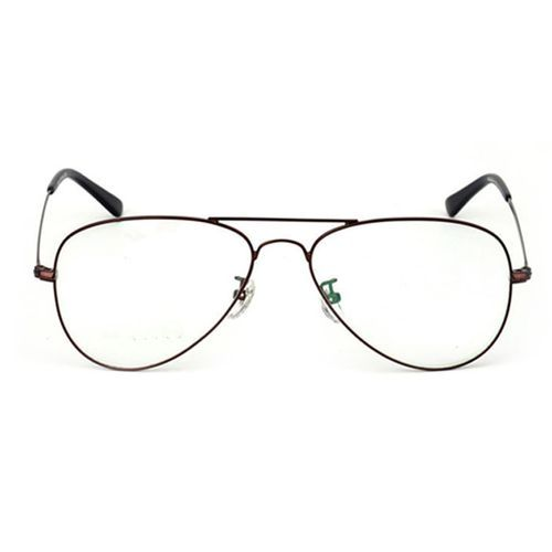 0bf843702 Fashion Fantastic Round Metal Decorative Harajuku Prince Optical Glasses -  Coffee