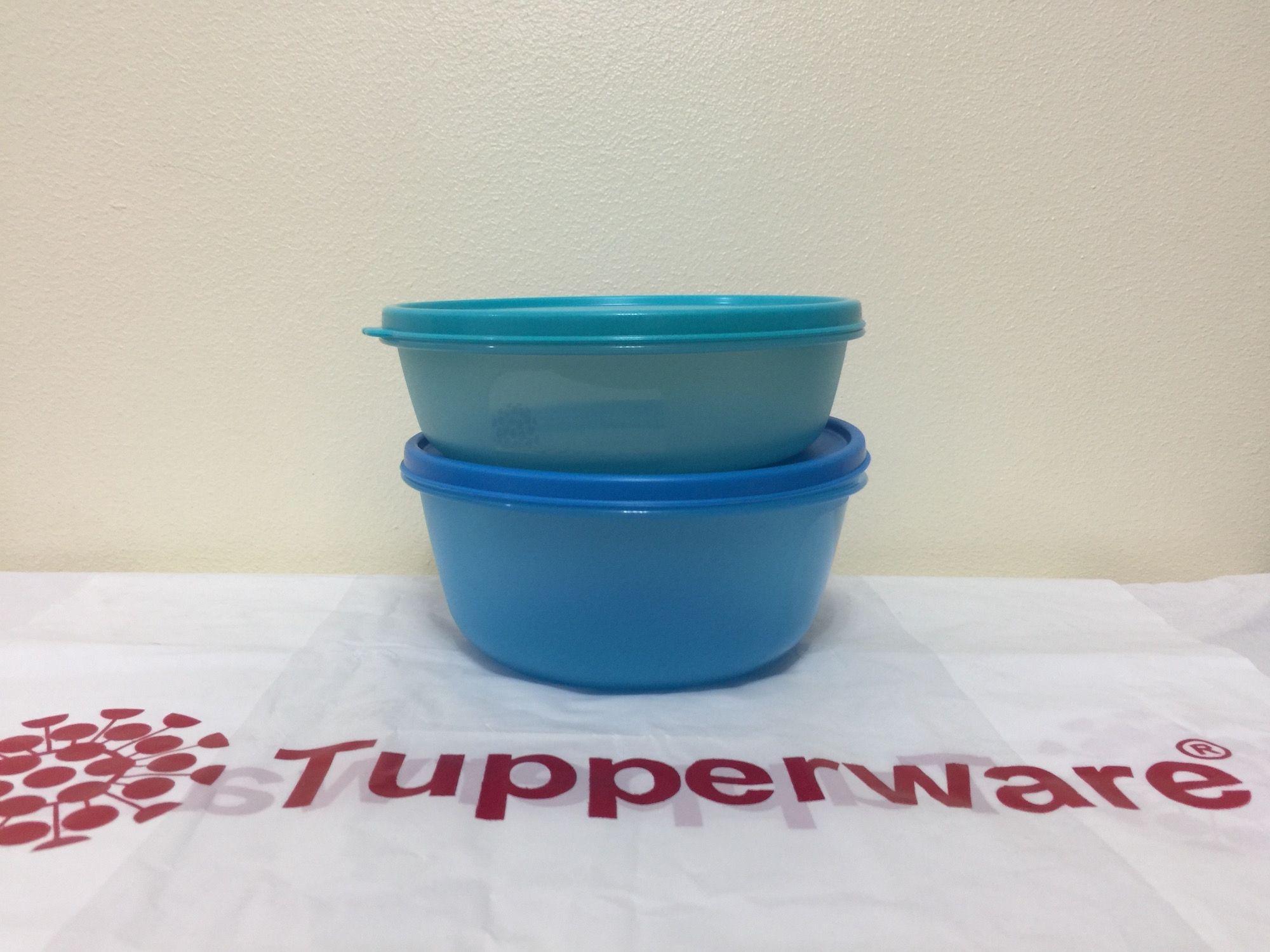Tupperware Space Saver Bowl Set – 2 Pcs | Laundry & Household ...