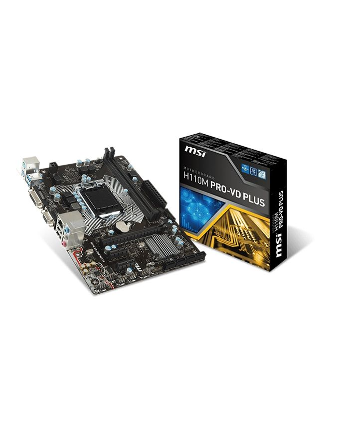 MSI H110M PRO-VD PLUS - Socket 1151 M-ATX Motherboard