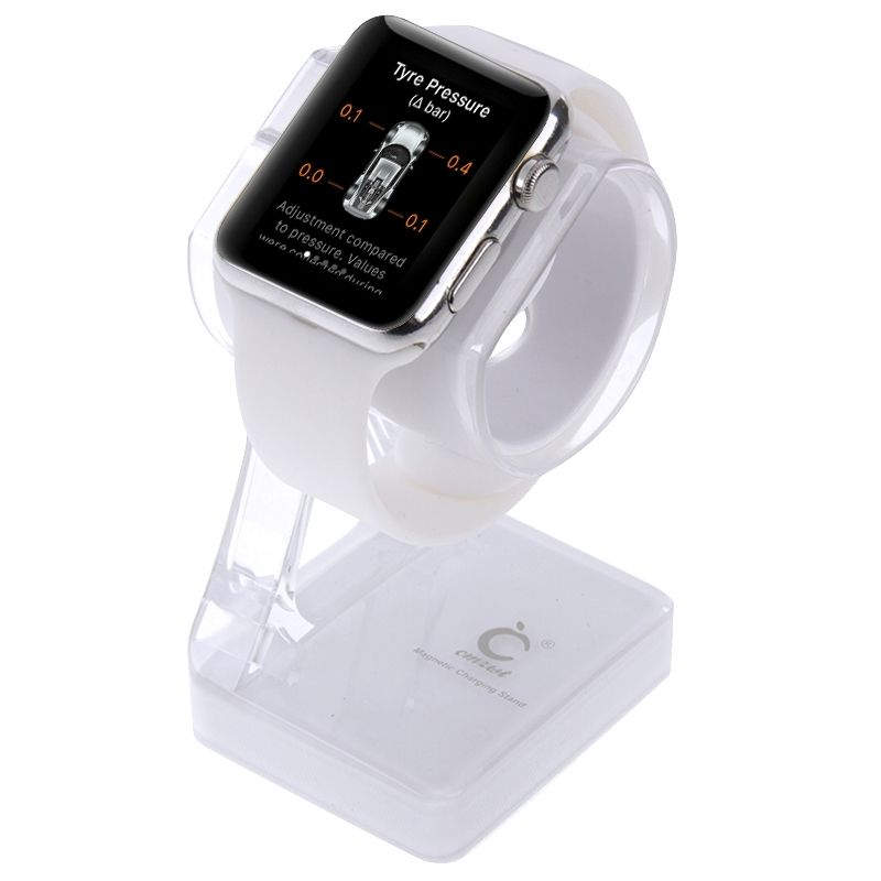 premium selection 93848 3eb34 Sunsky Plastic Charger Holder For Apple Watch 38mm And 42mm, Stand For  Iphone 6s And 6s Plus, Iphone 6 And 6 Plus, Iphone 5 And 5s, Samsung Galaxy  S6 ...