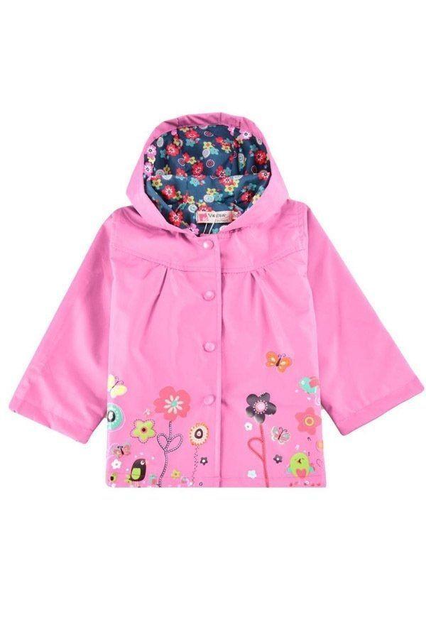 Sunweb Spring Autumn Children Hoodies Girls Flowers Jacket Kids