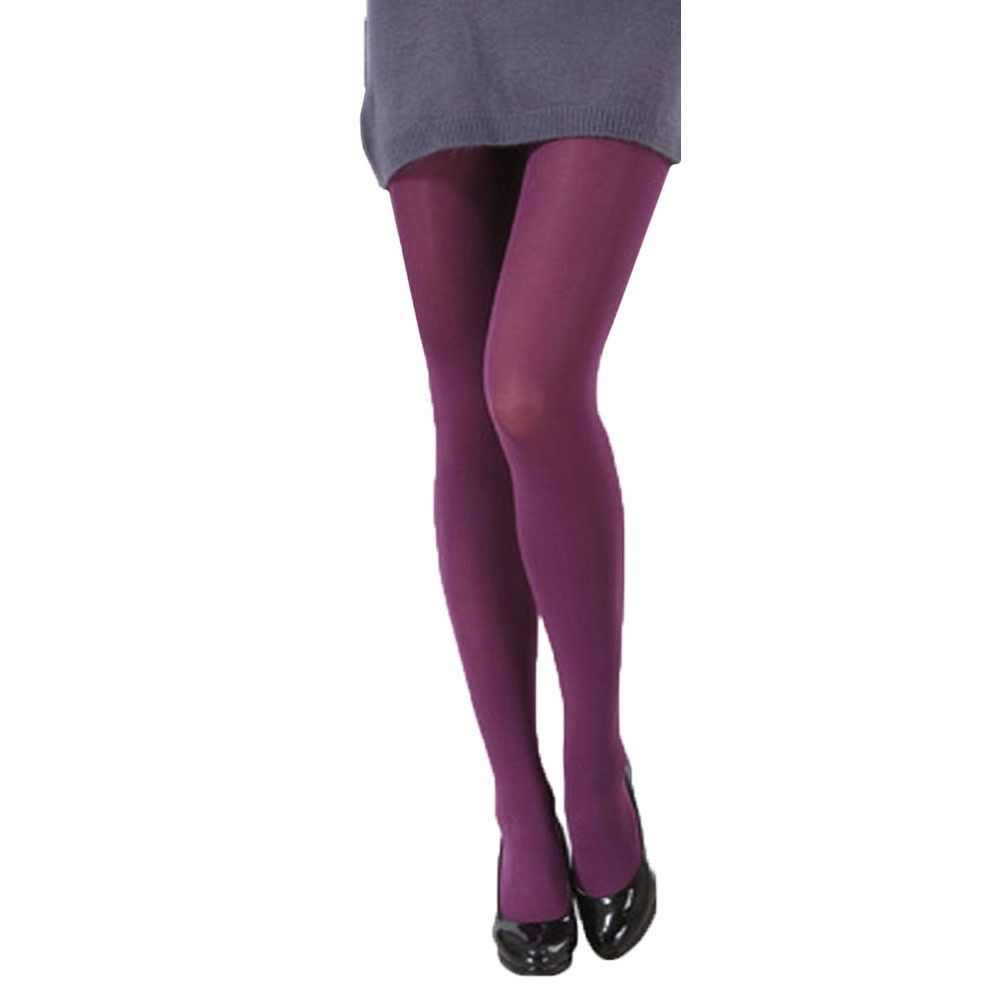 35373b2837 Eissely Autumn Burnish Opaque Tights Candy Color Leggings Tights ...