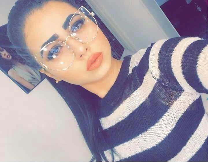d54586abf2 Generic Women Large Cat Eye Eyeglasses - Transparent