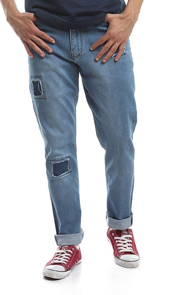 e3d1faf175951 سعر Ravin بنطلون جينز ضيق - أزرق فى مصر