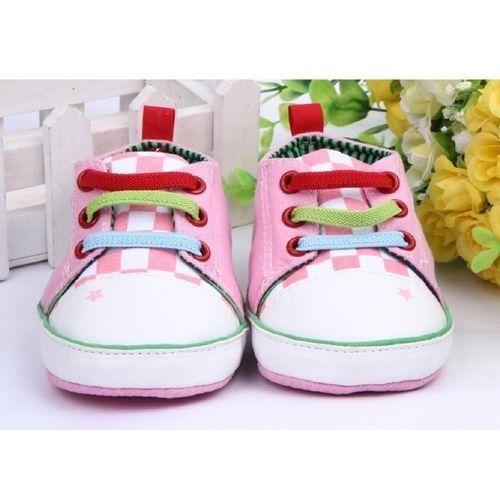 150a1022 Fashion Cartoon Frog Baby Boy Girl Canvas Shoes Casual Soft Sole ...
