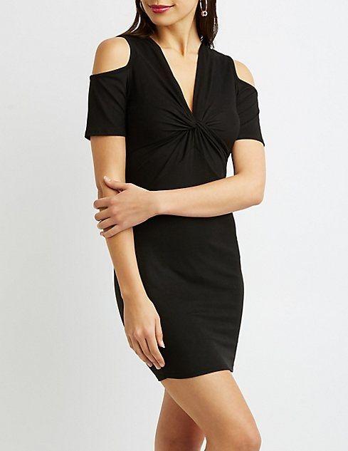 1f7d8a653d6 Charlotte Russe Cold Shoulder Knit Dress Price in Egypt