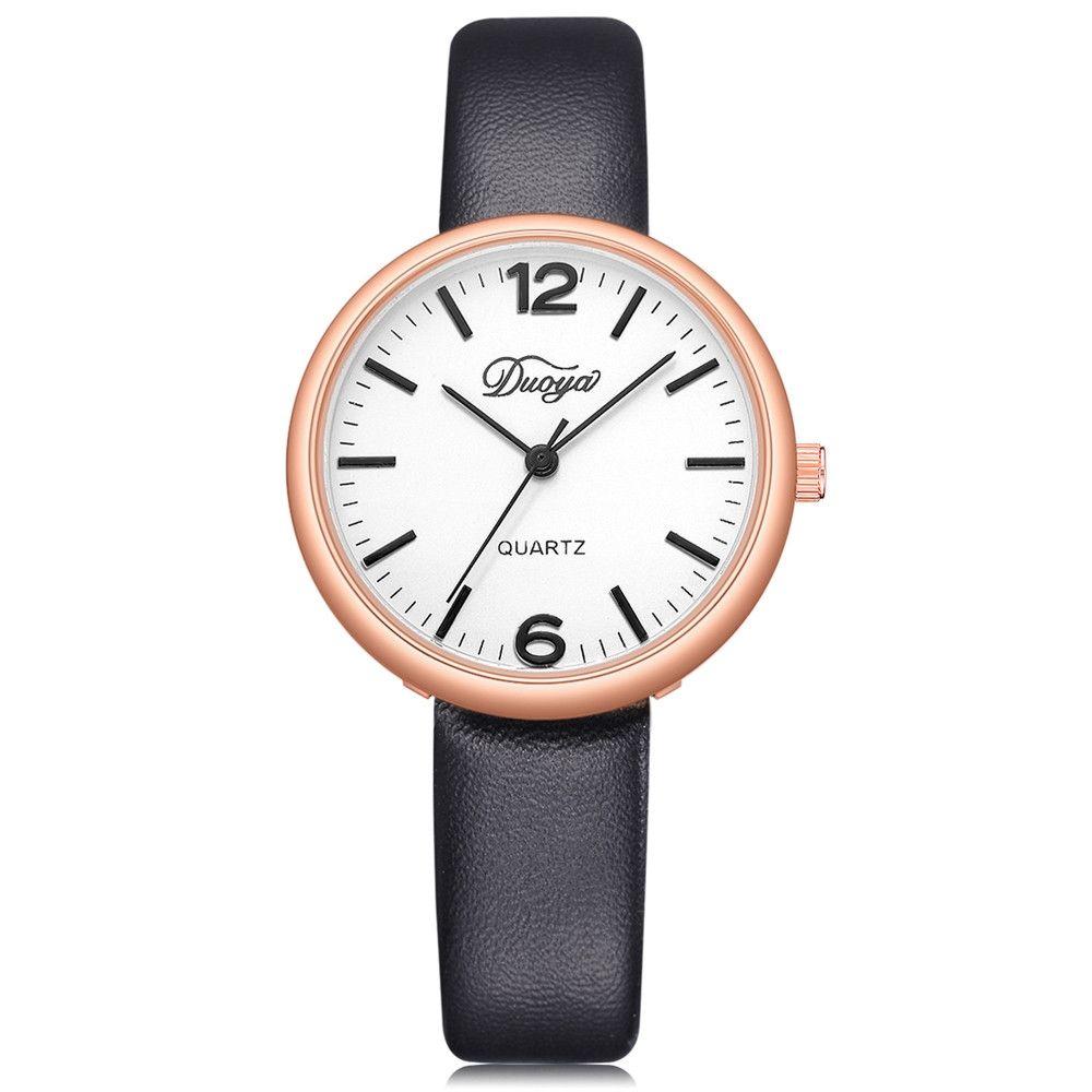 64bbd9d9b Buy Universal Henoesty Fashion Women Men Couple Watch Rounded Analog  Pointer Quartz Wrist Watch in Egypt
