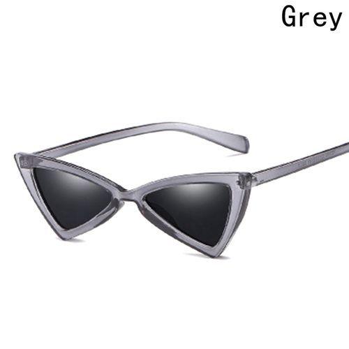 0c85d5b67d2 Fashion 2018 Sexy Cat Eye Sunglasses Retro Red Small Triangle ...