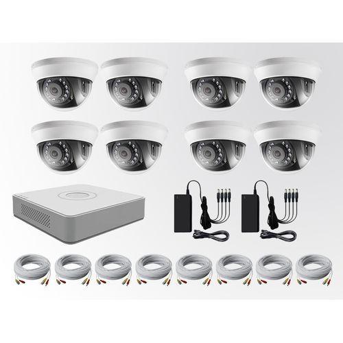 Hikvision CCTV Turbo HD 2Mega 1080P 8 Channel Kit ( DVR +
