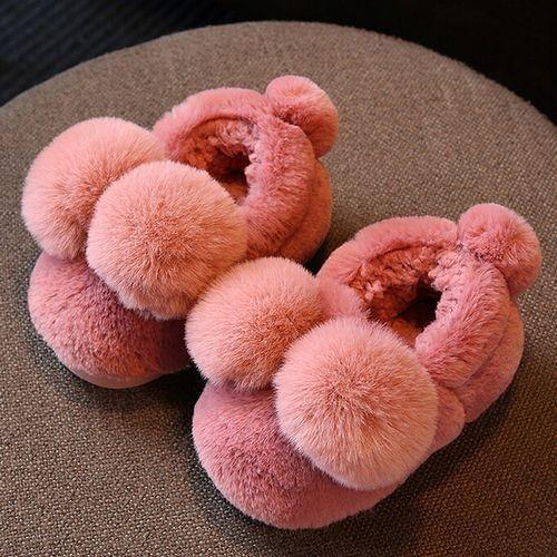 9bd9c3c53 Buy Yiqu Chaussures A Semelles Souples En Peluche Pour Fillette - Rouge in  Egypt