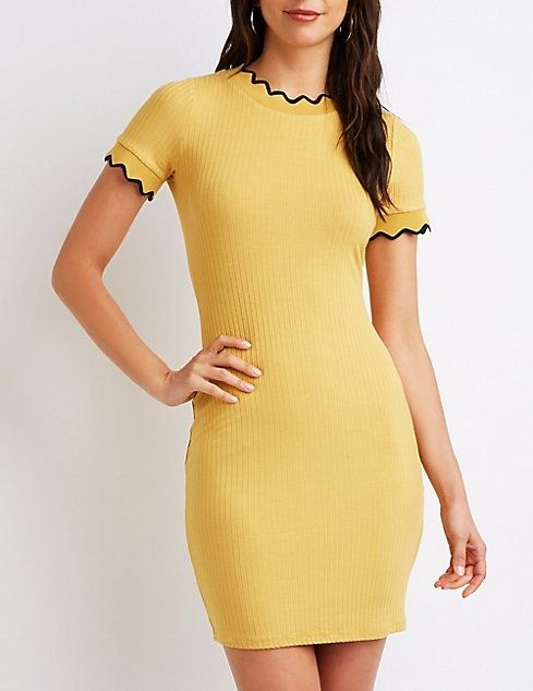 19cf0a418e6 Charlotte Russe Ribbed Knit Bodycon Dress Price in Egypt