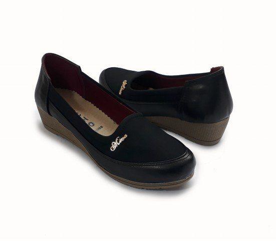 484407b11 سعر Generic أحذية مريحة للأقدام بكعب 3 سم - أسود فى مصر | جوميا ...