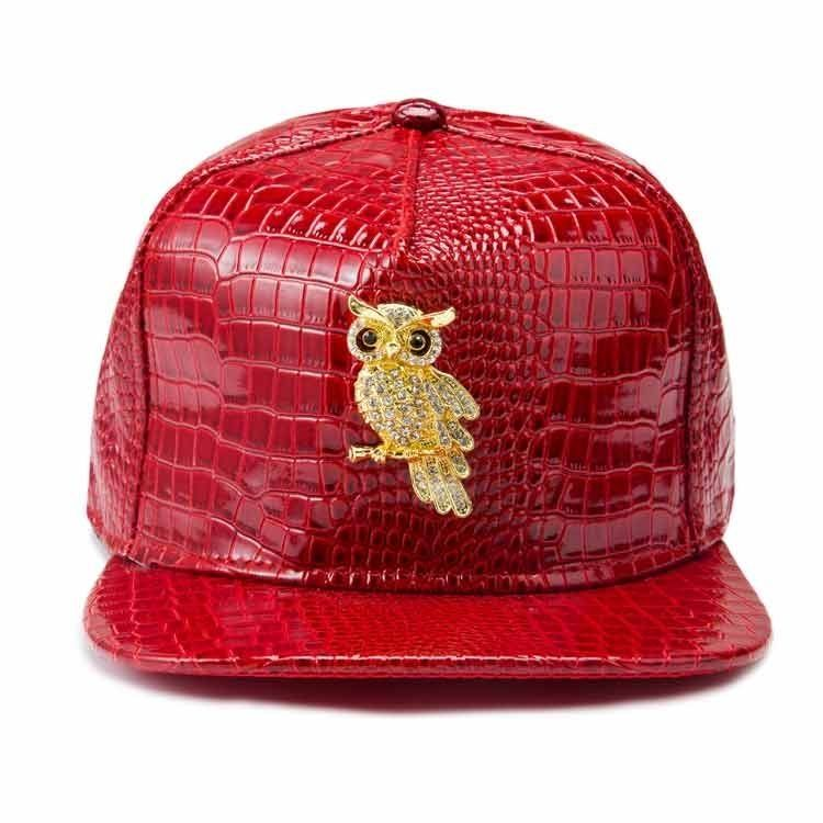 7b7cb44187 Generic Hats Owl Pattern Top Hat Fashion Men And Women Hip Hop Style ...
