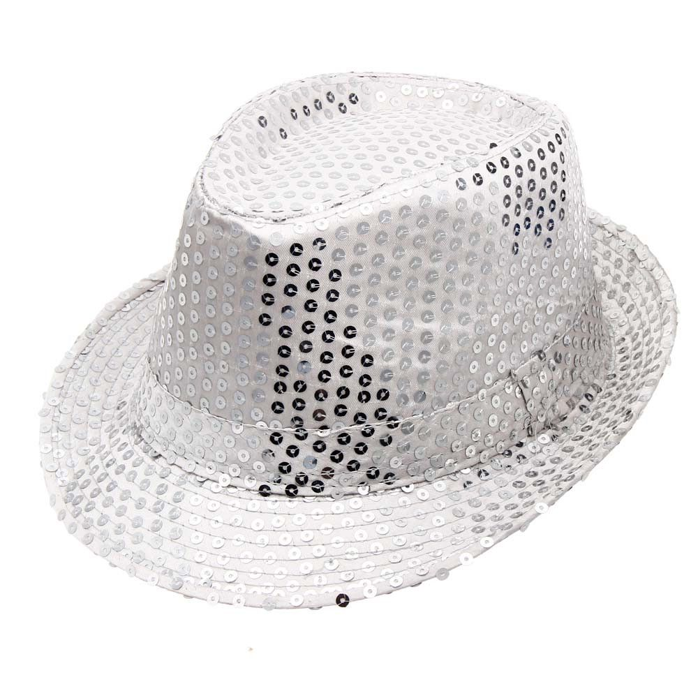 ccd2e79b343 Eissely Sequined Hat Hat Hat Dance Stage Show Performances WH ...
