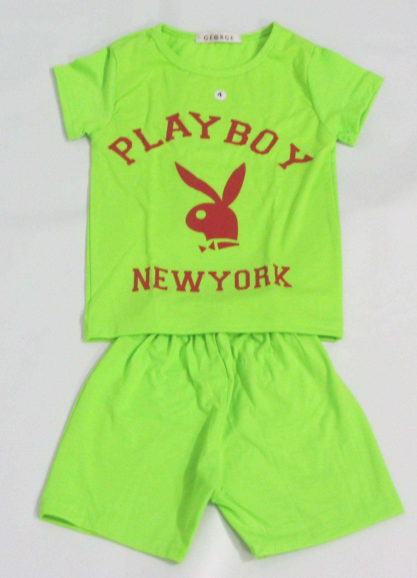 b1d31476ae6fb Jada Bjama shortPrinted Home Pyjama - Green