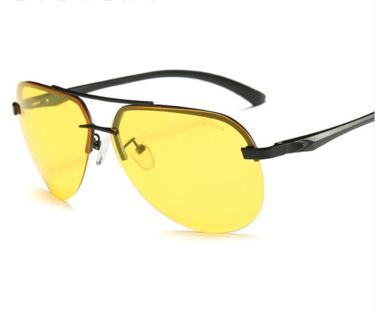 a081dacbd OEM نظارات شمسية للرجال بتصميم مربع لون اسود نظارات شمسية باطار اسود  بولارايزد للرجال