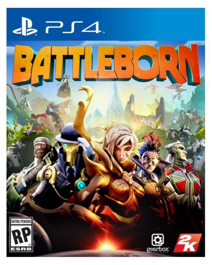 2K Games Battle Born - PS4