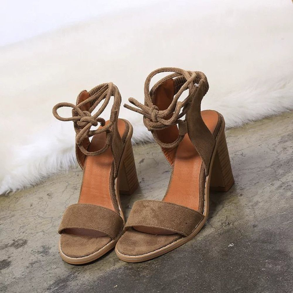 6b9358126cc Generic Tectores Spring Fashion Straps Sandals Women Pumps High Heels Shoes  Female Shoes Gift
