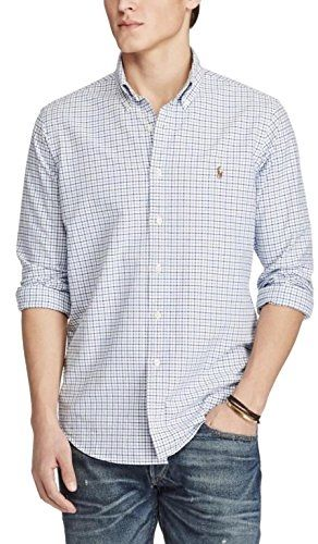 88d3ffbe7 US Polo Ralph Lauren Classic Fit Men's Checked Long Sleeve Oxford ...