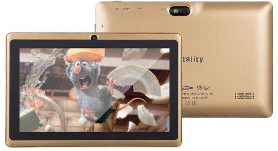 """Zentality C-701 - 7.0"""" - 8GB - 1GB Ram - Wifi - Tablet - Gold"""