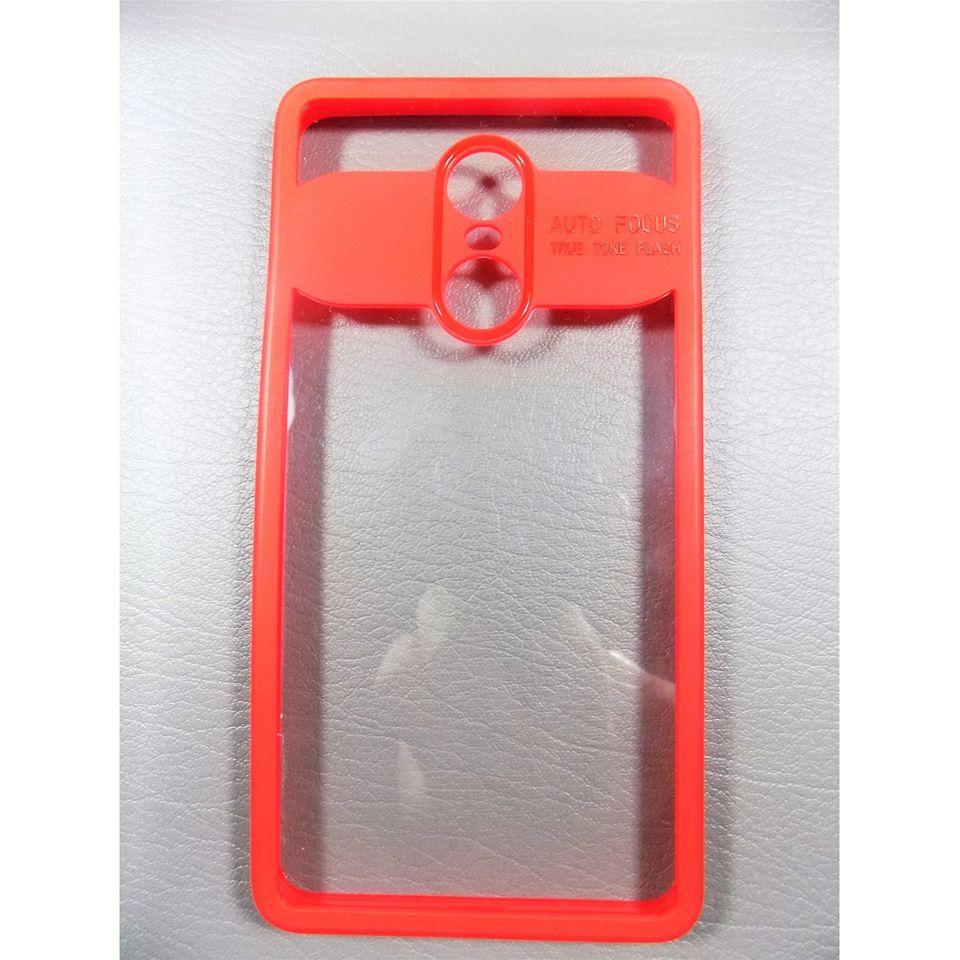 brand new 3b468 83a6c Generic Xiaomi Redmi Note 4 AutoFocus Soft Armor Case - Red Price in ...