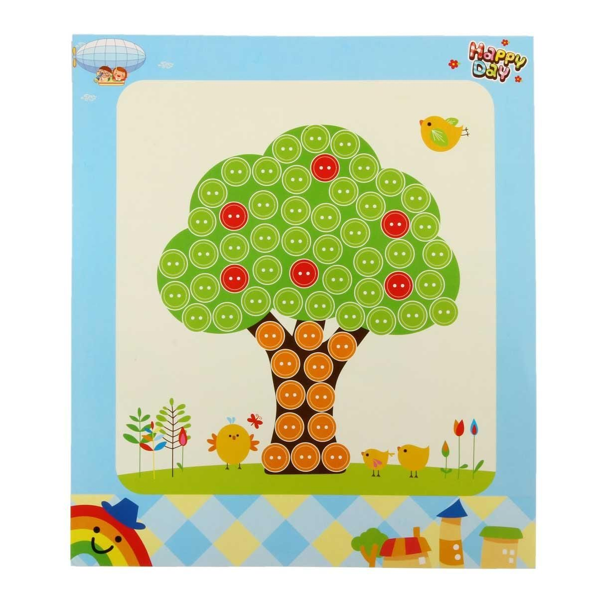 drawing games on paper Generic 1 Pc Handmade DIY Baby Kids Games Craft 3D Puzzles