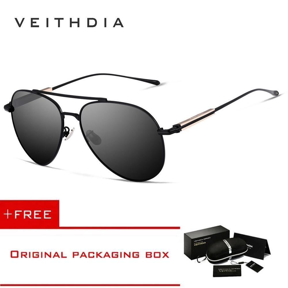 b174a1dff Generic 2017 VEITHDIA Original Designer HD Lens Polarized Sunglasses Men  Driving Goggles Sun Glasses Eyeglasses Accessories 6696